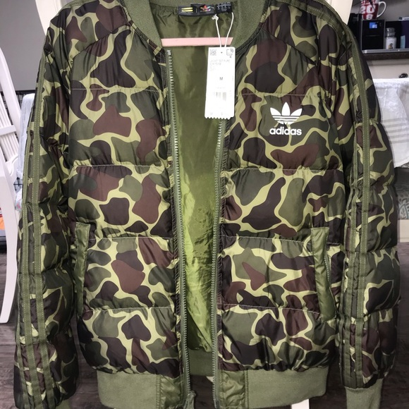 adidas Jackets & Blazers - ADIDAS SPECIAL EDITION Camo Bomber Jacket